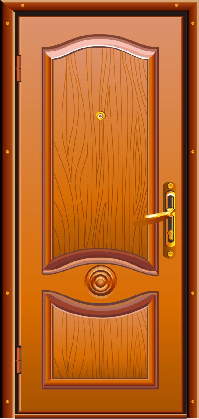 Vector Hand Painted Wooden Doors Vector Hand Painted Doors Png