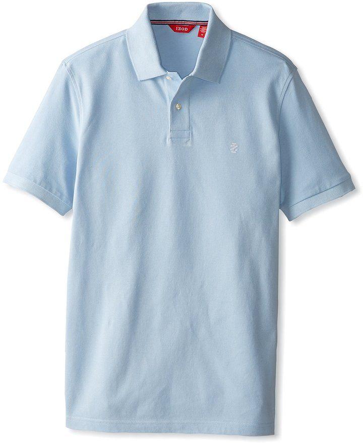 IZOD Short Sleeve Heritage Polo
