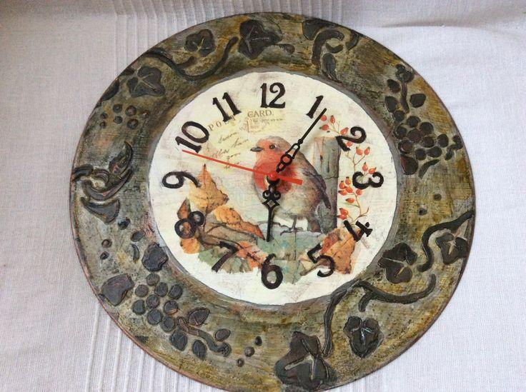 vinil clock