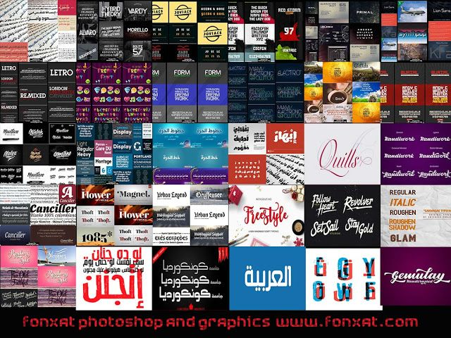 english fonts 2016 خطوط انجليزى احترافية ~ photoshop world