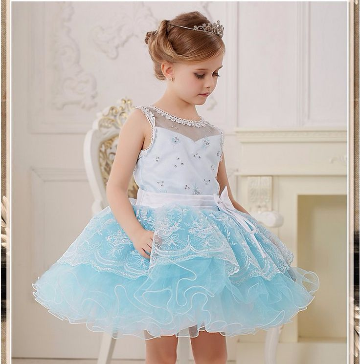 Party dress bulk wholesale tulle dress Frozen Elsa tutu dress