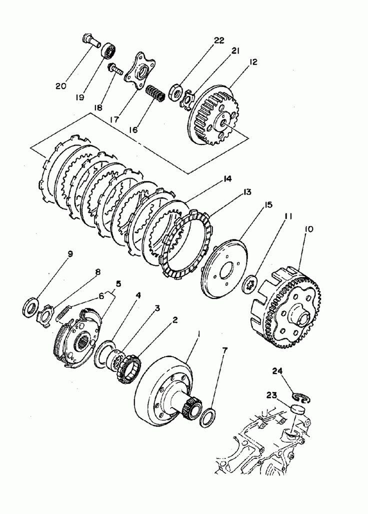 Yamaha Timberwolf 5 Engine Diagram Yamaha Timberwolf 5