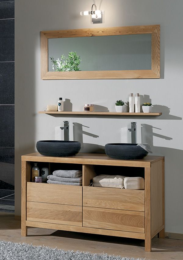25 best ideas about meuble double vasque on pinterest for Double vasque salle de bain ikea