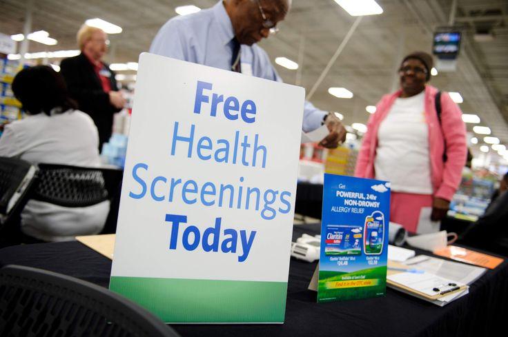Sam's Club: Free Health Screenings on 5/14 - http://www.swaggrabber.com/?p=292254