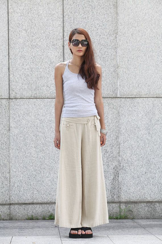 17 Best images about Linen on Pinterest | Palazzo pants, Sailor ...