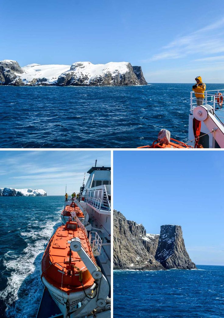 Approaching the South Shetland Islands on the Ocean Endeavour, Antarctica | heneedsfood.com