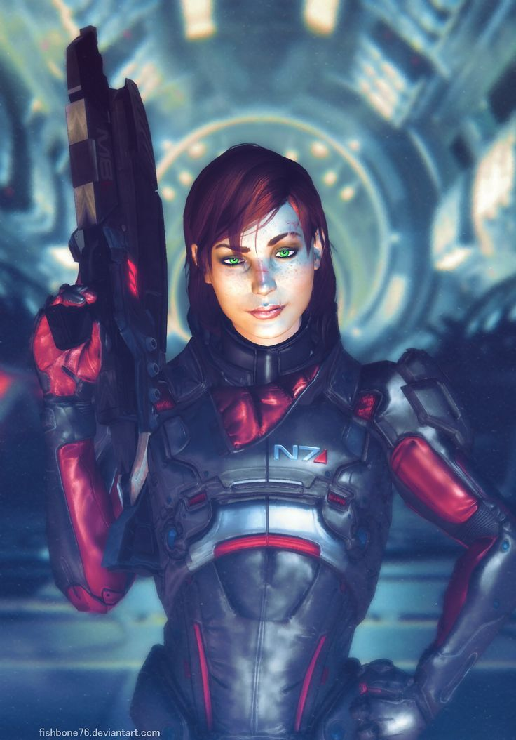 Pathfinder Shepard by fishbone76