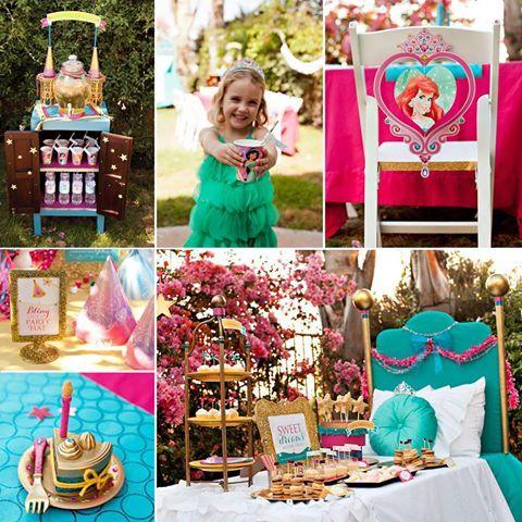 Sparkly Disney Princess Dream Party #princess