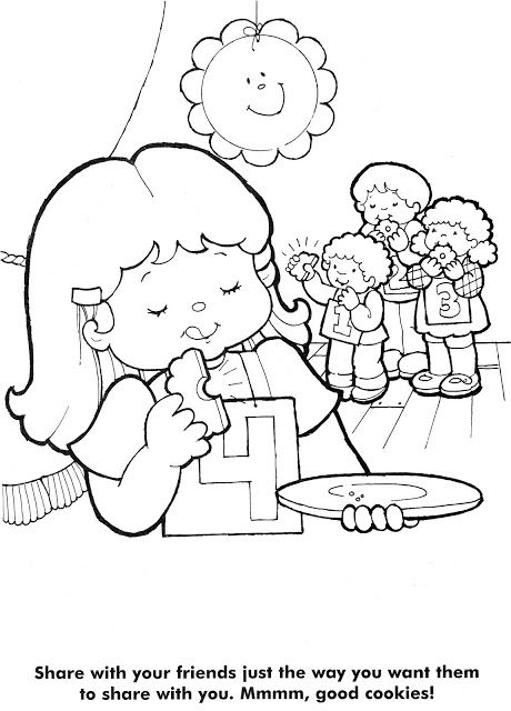 Coloring Pages The Golden Rule