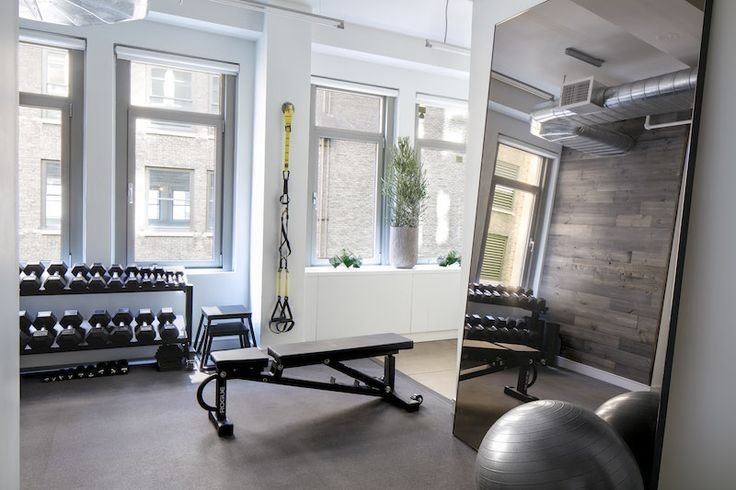 You won 39 t believe how stylish this physical therapy office for Physical therapy office layout