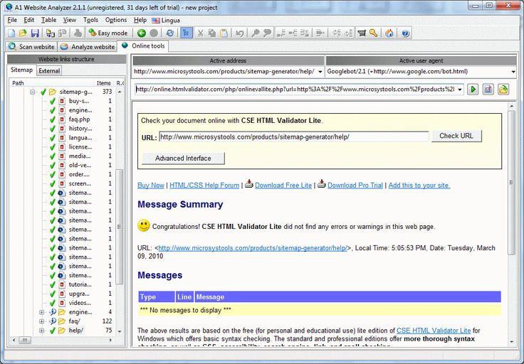 A1 Website Analyzer 6.0.1 screenshot
