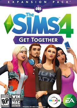 The Sims 4 Get Together Expansion Boxart