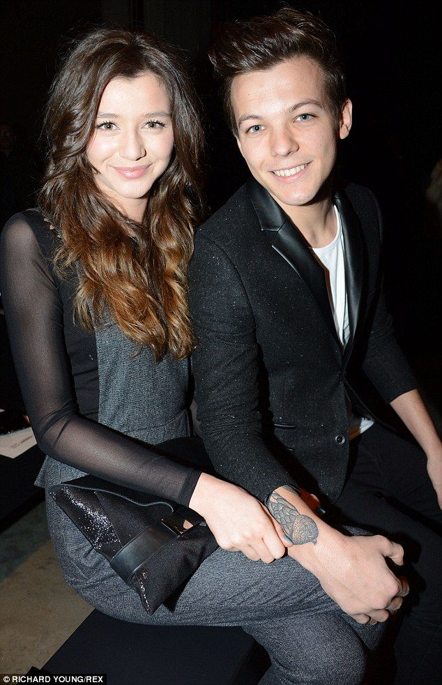 Happier times: Louis and Eleanor were together for four years and thought to be solid