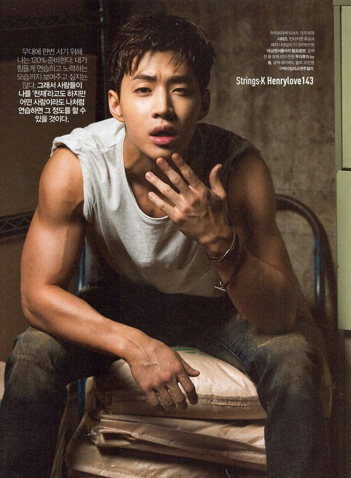 Henry 헨리 Lau of Super Junior-M subgroup