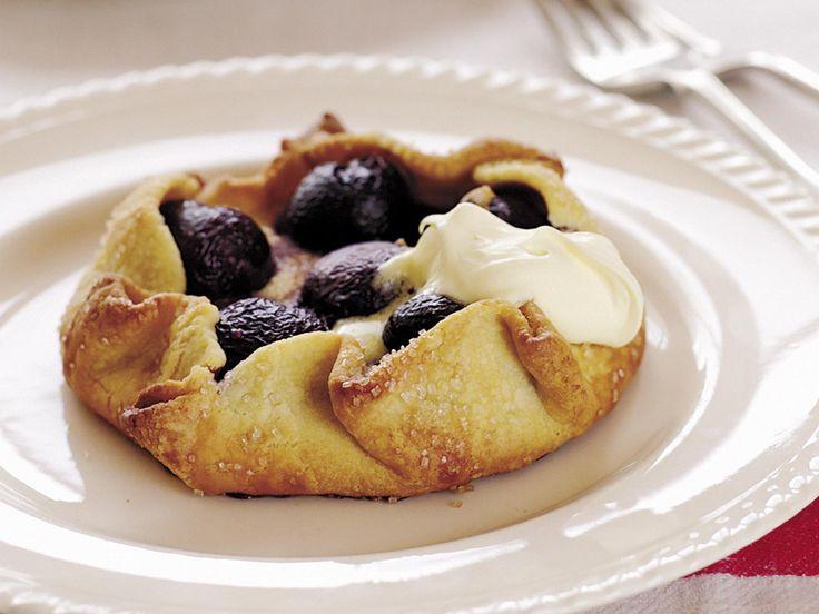 Sweet almond cherry tart, almond recipe, brought to you by Australian Women's Weekly