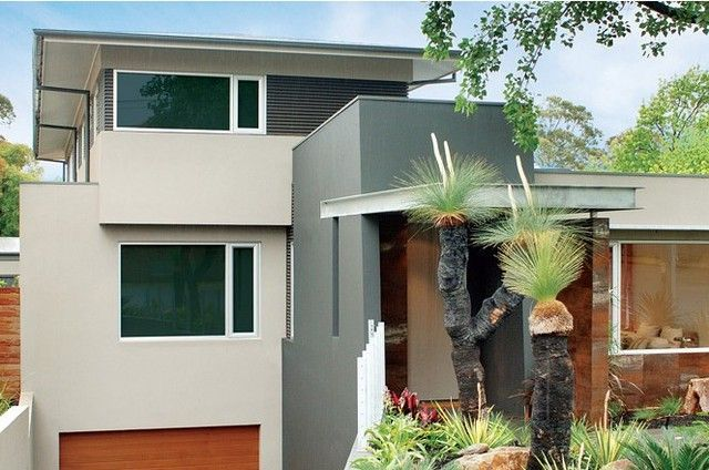 taubmans modern exterior house colour schemes - Google Search