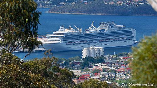Diamond Princess Cruise at Hobart (15/12/2013)