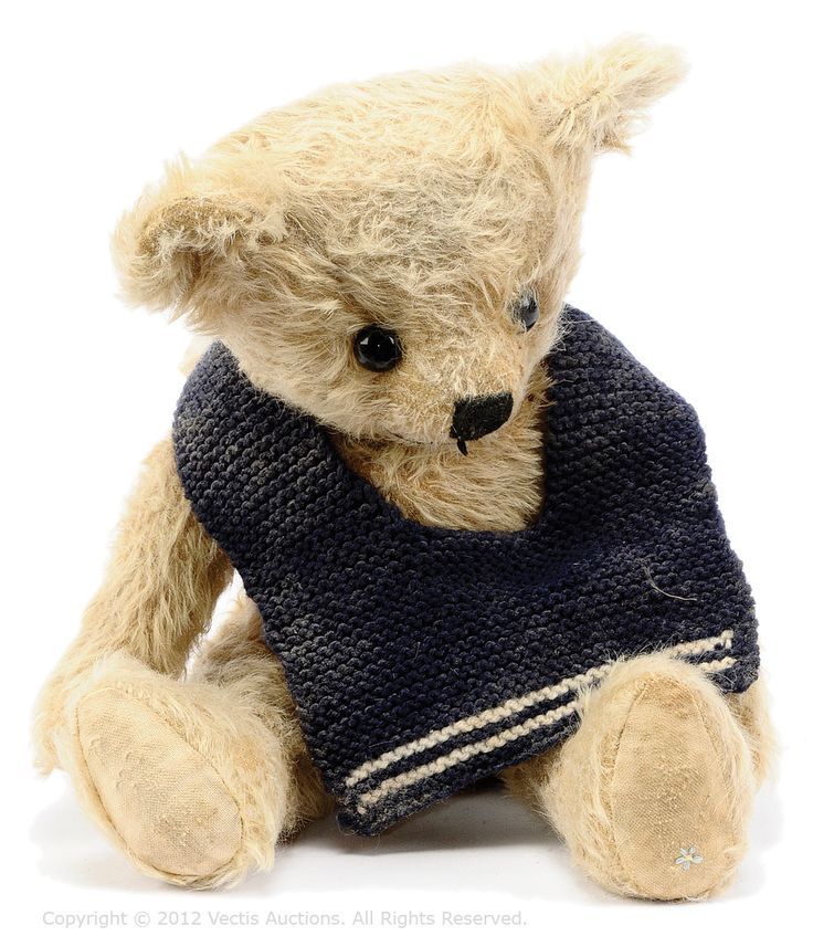Forget-Me-Not Billy Clipper Limited Edition Artist Teddy Bear | Vectis Toy Auctions