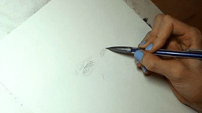 gifsboom: Drawing Lionel Messi. [video]