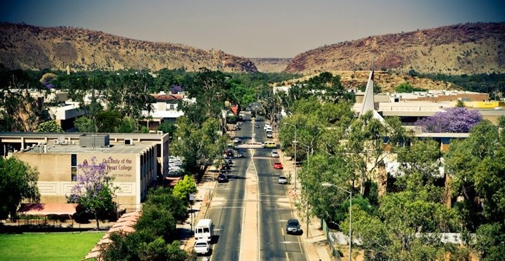 Alice Springs - centre of Australia - Northern Territory