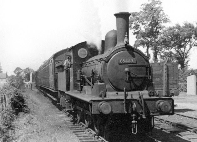 A picture taken at Brockford soon before the line closed in 1952.