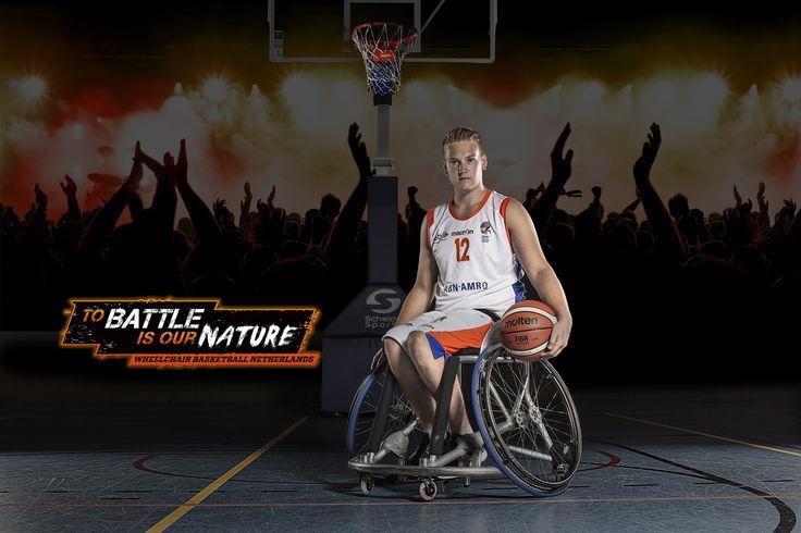 Gijs Even - Wheelchair Basketball Netherlands 'To battle is our nature' Rolstoelbasketbal [Beside basketball Gijs loves music]