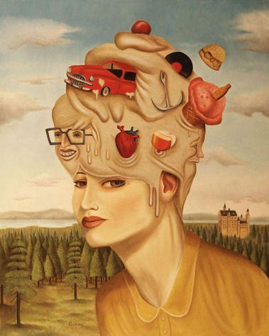 El Surrealismo pretende describir la vida de una forma abstracta con elementos incongruentes, dándole vida a lo que no está muerto, deformando elementos realistas y dándoles una nueva perspectiva. autor: RAFAEL SILVEIRA