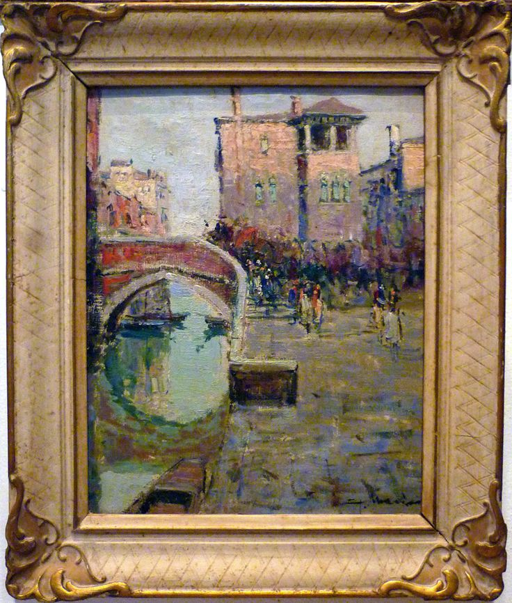Giuseppe Marino - Venice - oil on canvas
