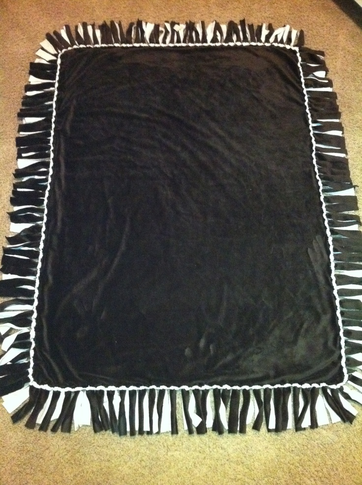 17 Best Images About Diy Tie Blankets On Pinterest