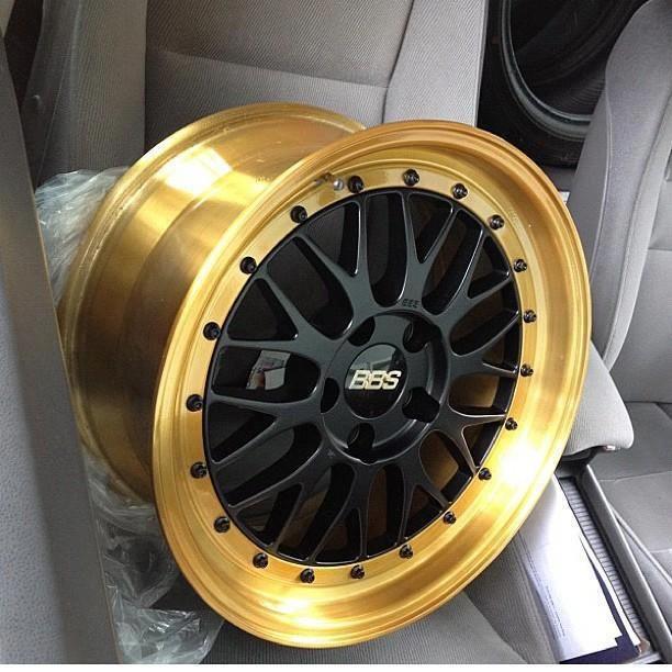 Black n gold BBS