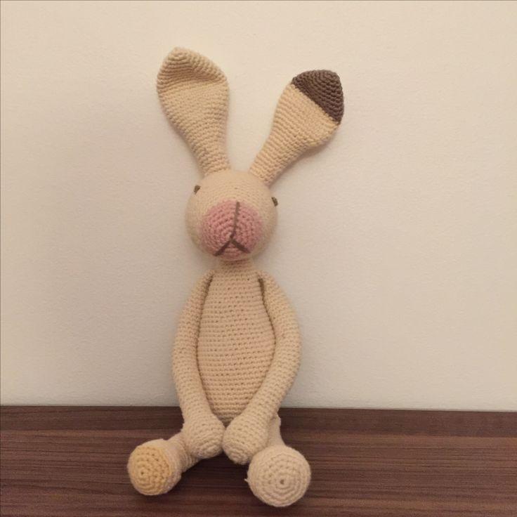 Amigurumi toy bunny, tig tavsan, dantel tavsan
