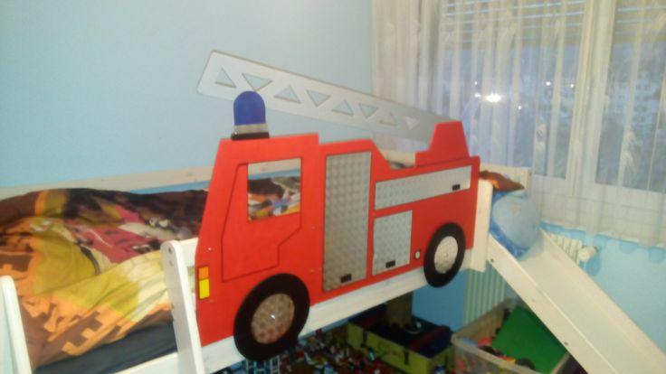 Les 25 meilleures id es de la cat gorie lit camion pompier sur pinterest li - Lit camion de pompier ...