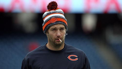 Smokin' Jay Cutler: This site is dedicated to the most apathetic looking athlete in the history of sports.