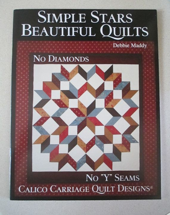 Broken Star And Carpenters Star Quilt Pattern Calico