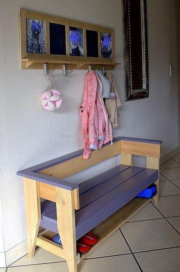 great ideas for reusing or recycling wood pallets pallet shoe rack bench