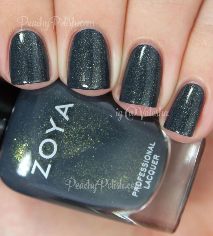 Zoya Yuna | Fall 2014 Ignite Collection | Peachy Polish