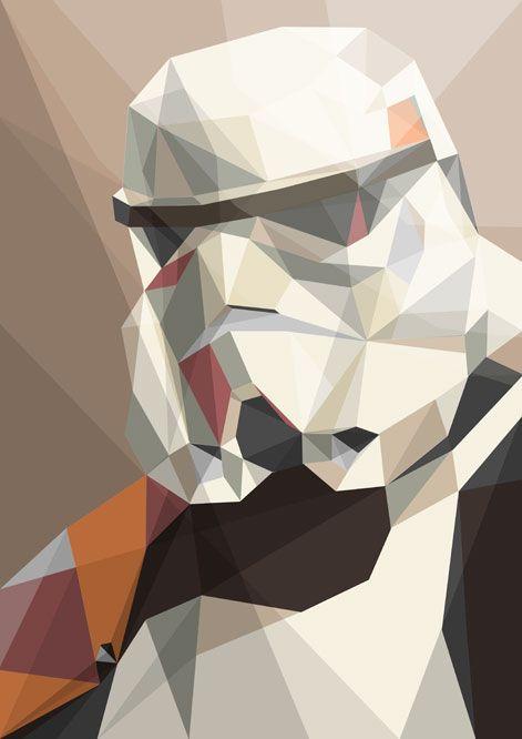 Polygones stormtroopers