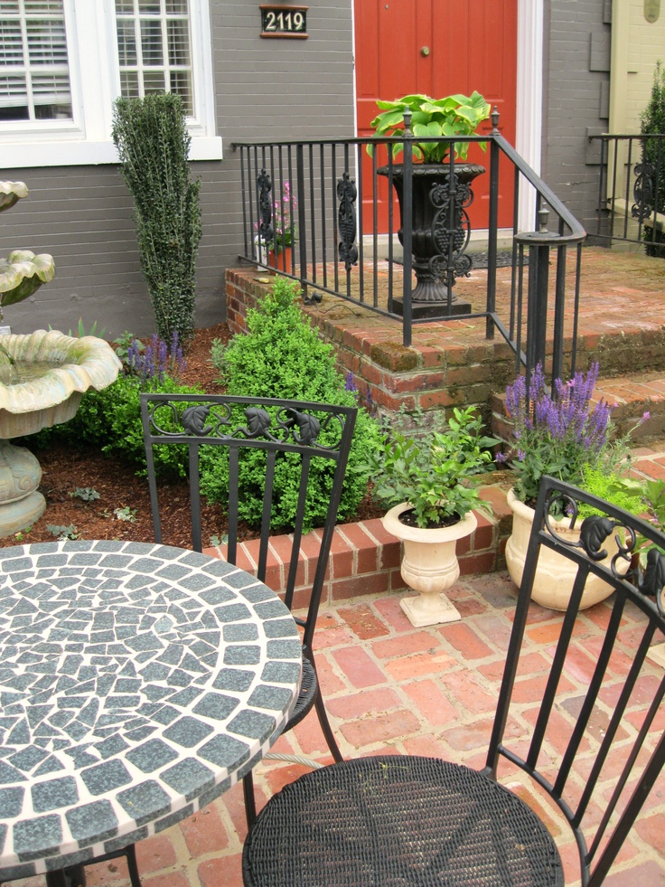32 best images about Front yard patio on Pinterest on Front Yard Patio id=42943