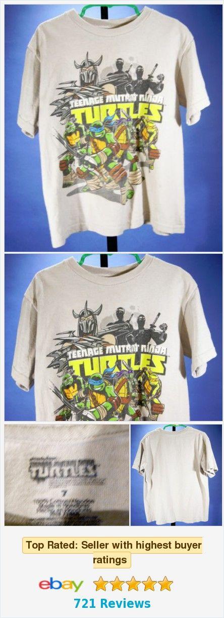 Boy's Teenage Mutant Ninja Turtles Graphic T-Shirt Size 7