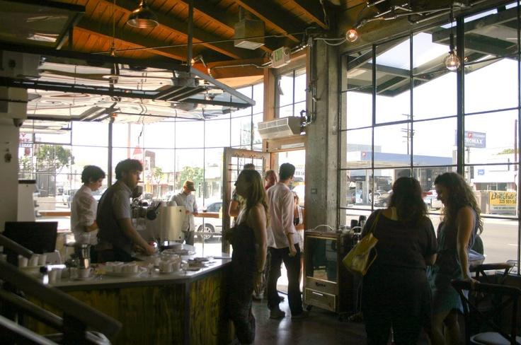 Paper or Plastik cafe at 5772 W. Pico.