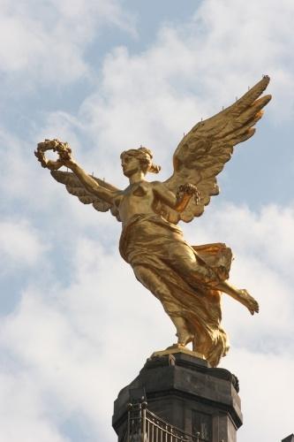 Angel De La Independencia Mexico D F Paisaje Urbano Paisaje Mexico Angel De La Independencia