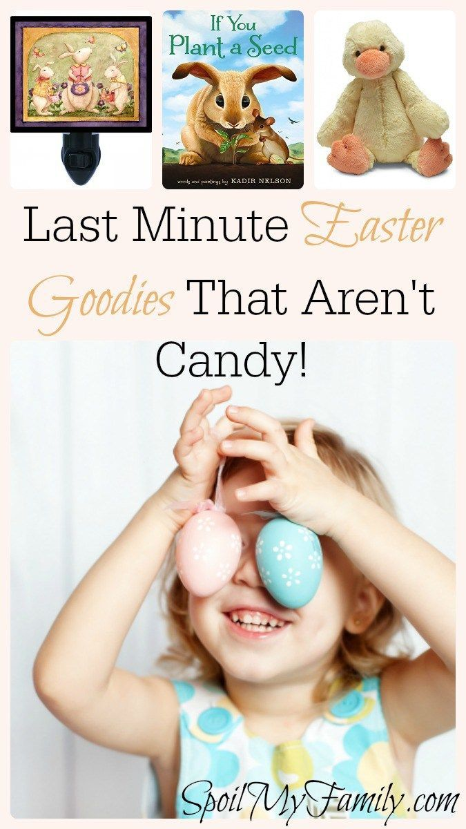 I love these easter basket ideas that aren't candy! www.spoilmyfamily.com