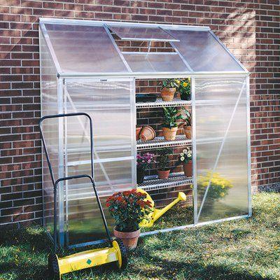 Juliana Greenhouses Mini 3 Lean-To Greenhouse