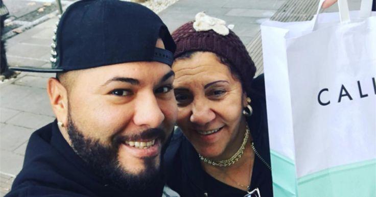 El Chacal se lleva a su mamá de compras por Italia #Farándula #ElChacal #RamónLavado