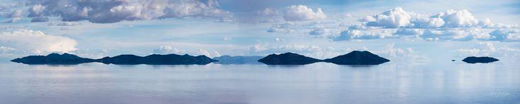 Entre nubes - Salar de Uyuni Bolivia