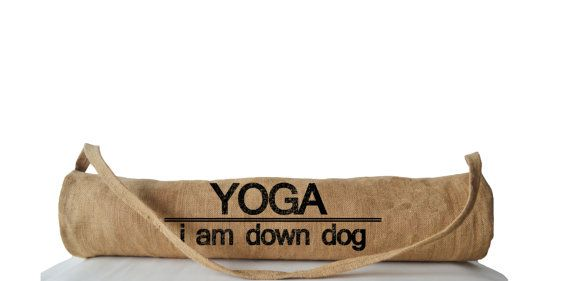 Yoga Mat Bag Yoga Totes For Yogis Yoga Accessories by AmoreBeaute