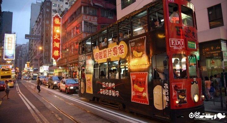 واگن های برقی در هنگ کنگ