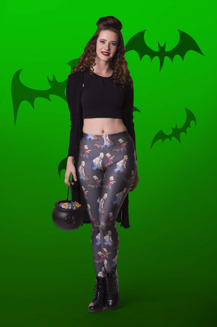 Too Ghoul For Skoul Leggings - $65.00 AUD