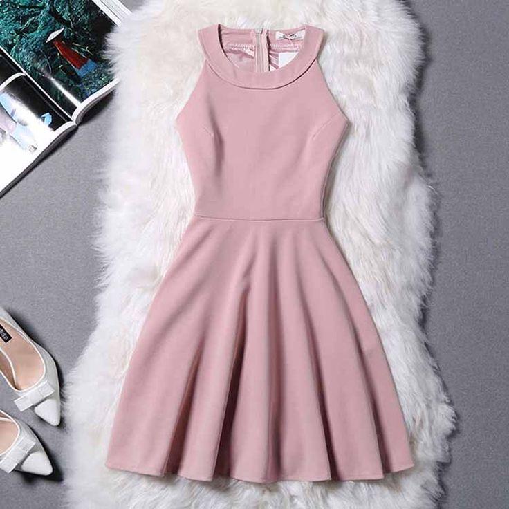 Halter Prom Dress,Zipper Prom Dress,Mini Prom Dress,Fashion Homecoming Dress,Sexy Party Dress, New Style Evening DreA