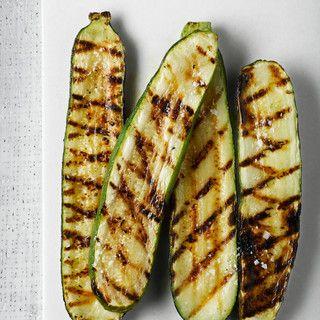 Courgettes grillées à l'huile pimentée